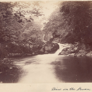 1154 View On the Devon 1884