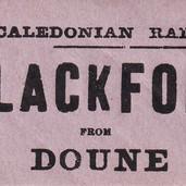 1091 Caledonian Railway Ticket