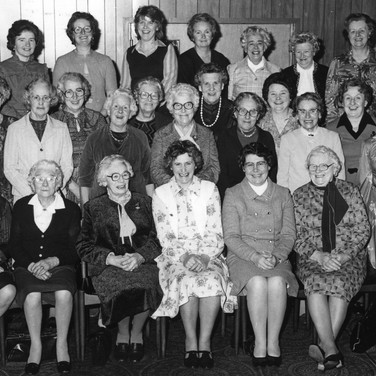 274 Blackford Women's Guild 60th Anniversary