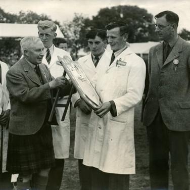 320 Winning Scottish Beef Judging Team