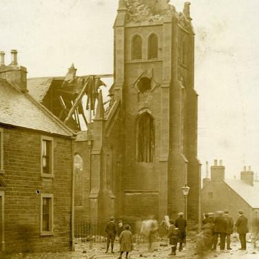 319 St Andrews Church Struck by Lightning