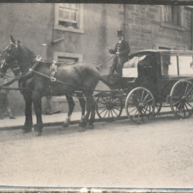 818 Horse drawn Funeral
