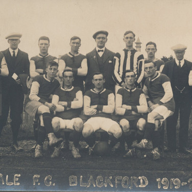 809 Vale FC Blackford 1919-1920
