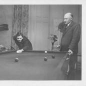 908 Billiard Table, Bank House