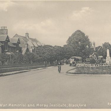 813 War Memorial and Moray Institute