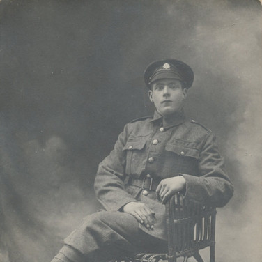 801 Soldier Seated