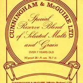 879 Cunningham & McGuire Label
