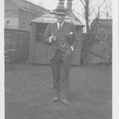 886 Daniel Stewart in Bank House Garden