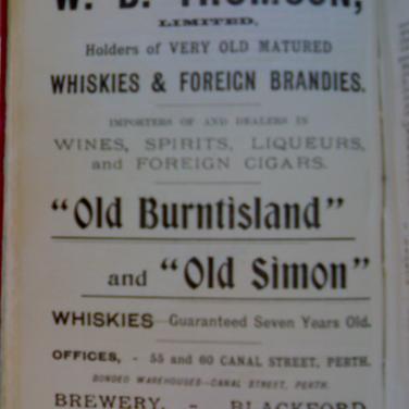 618 W B Thomson Advert