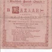 944 Bazaar in aid of Pipe Organ 1