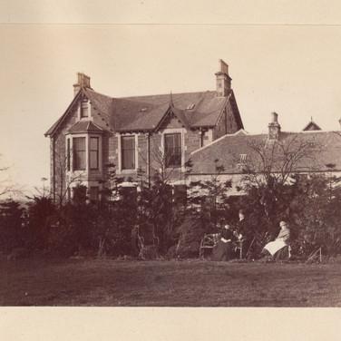 1166 Taken from garden Viewfield House