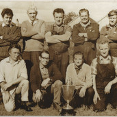 1085 Tullibardine Distillery Tug of War Team 1970s