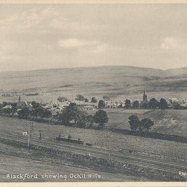 804 Blackford showing Ochil Hills