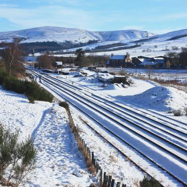 953 Snow Covering at Blackford