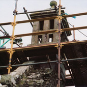 796 Restoration of Old Church Bell Tower