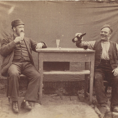 1153 1884 Two Drinkers