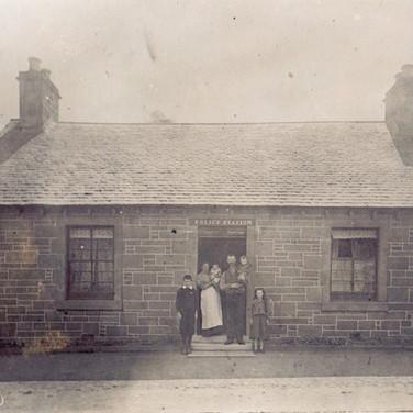 613 Police House Gordon Family c1905