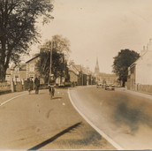 812 Moray Street with Cyclist
