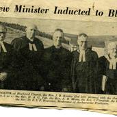 315 Induction of Rev J Rennie