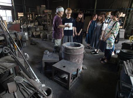 利三郎の鋳物ワークショップ