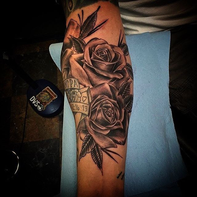#rosetattoo done by _chrisquiggle #tacom