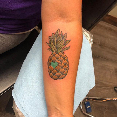 #Pineappletattoo by _chrisquiggle #tacom