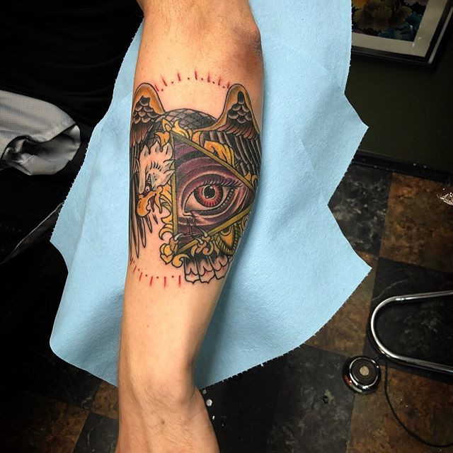 Tattoo made by artist _chrisquiggle #pug