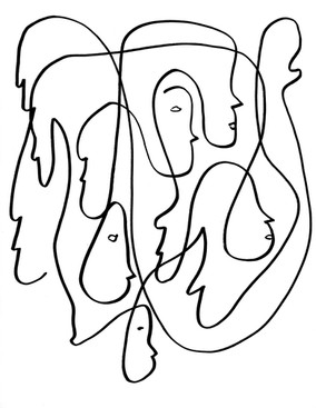 Lines Into Faces