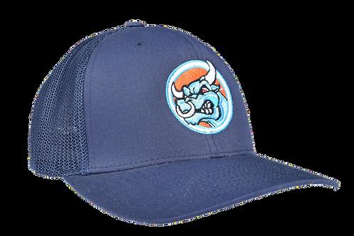 Blue Snapback Trucker Cap