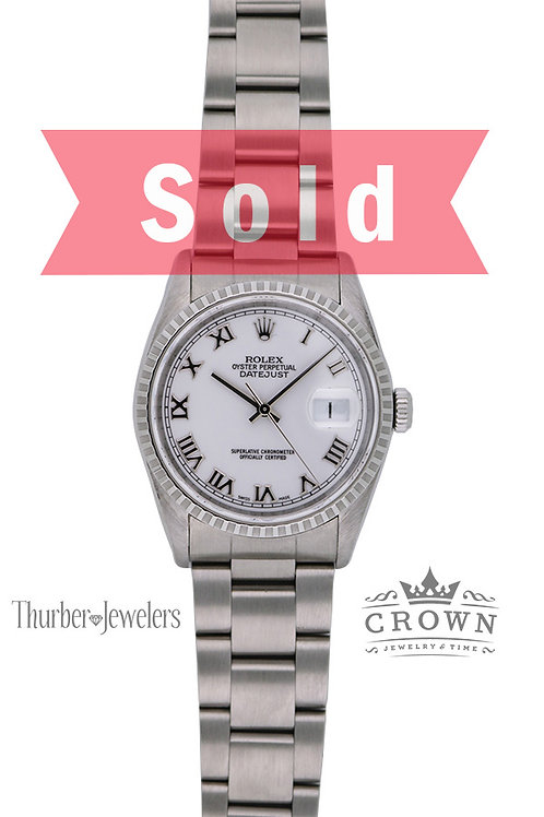 Rolex Oyster Perpetual Datejust 16220 36mm