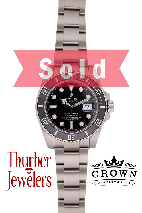 Rolex Oyster Perpetual Date Submariner 116610LN