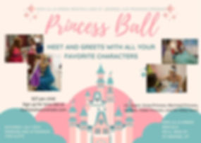 Pink Pastel Castle Princess Invitation (