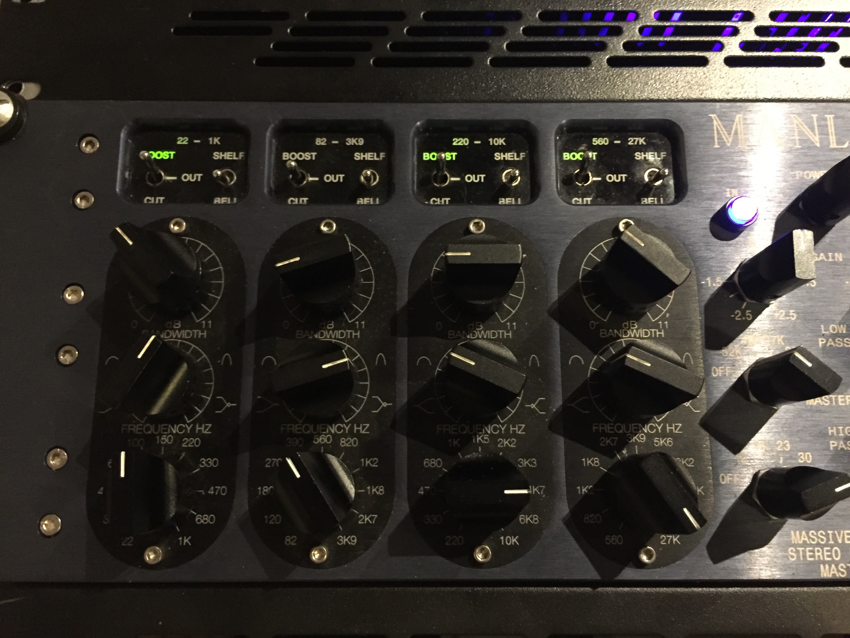MANLEY MP Mastering Edition