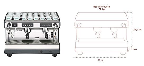 maquina de cafe rancilio basic