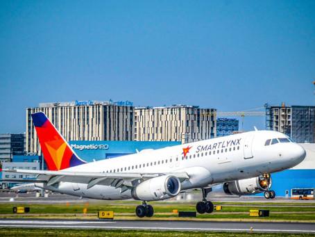 Neue Airline am EuroAirport: Ferienflüge ans Mittelmeer und zu den Kanaren mit SmartLynx Airlines