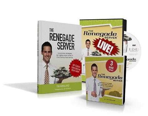 Renegade Book & DVD Combo