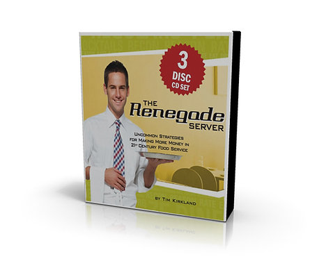 The Renegade Server Audiobook CD