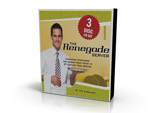 The Renegade Server Audiobook CD
