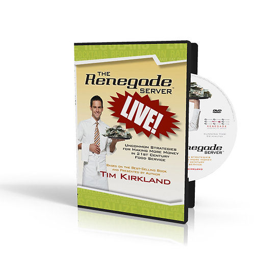 Renegade LIVE DVD