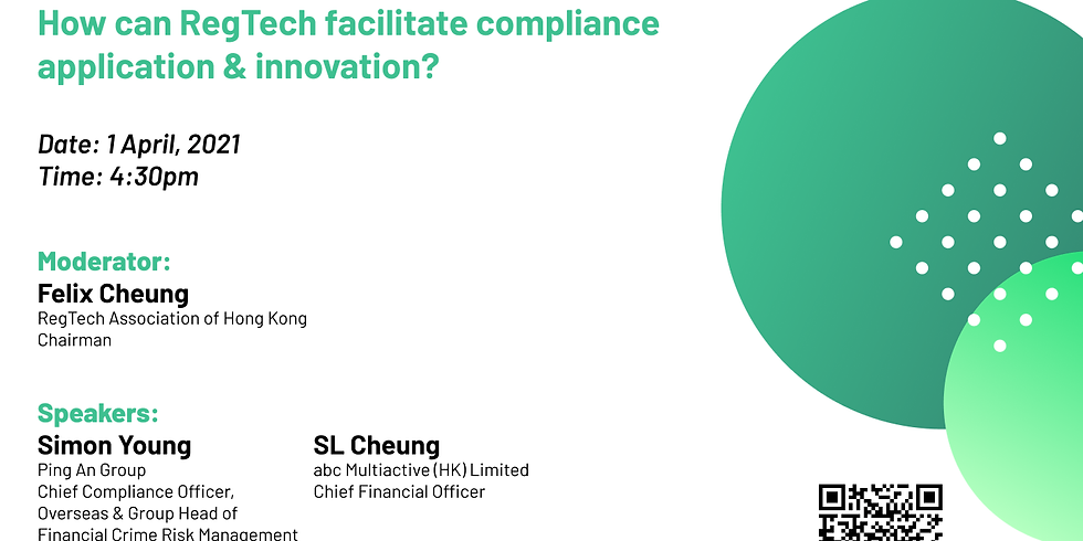 How can RegTech facilitate compliance application & innovation?