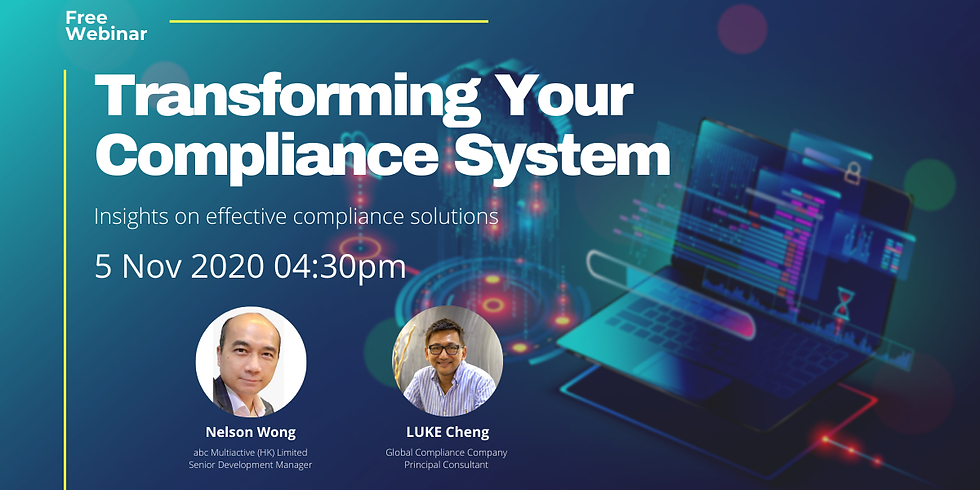 [05/11]Transforming Your Compliance System