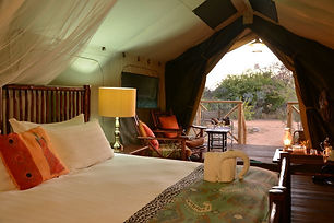 Kwafubesi Tented Safari Camp - Tent Inte