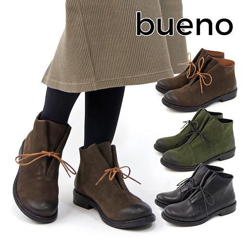 【BUENO SHOES ブエノシューズ】トルコ製 レザー アンクルブーツ【R3708】