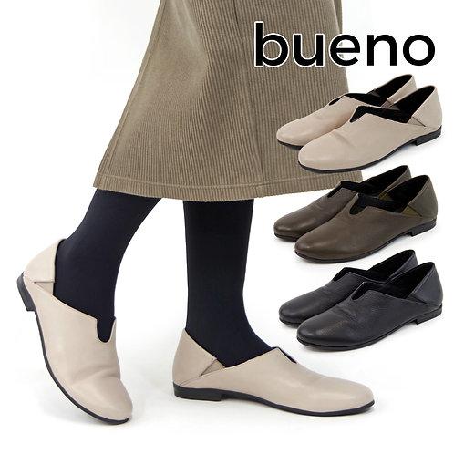 【BUENO SHOES ブエノシューズ】トルコ製 レザー スポックシューズ【R3203】