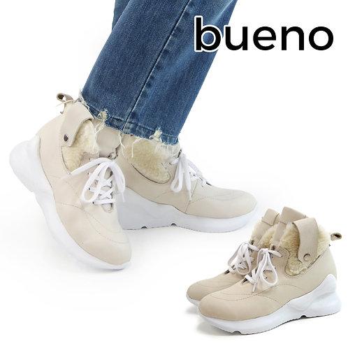 【BUENO SHOES ブエノシューズ】トルコ製 レザー ハイカットスニーカーブーツ【P7903】