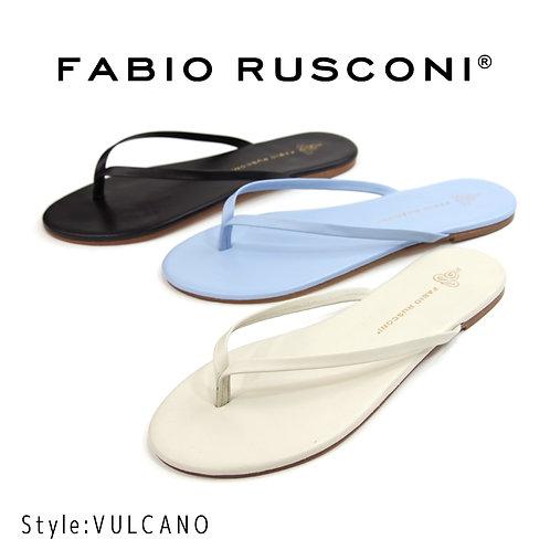 【FABIO RUSCONI ファビオ ルスコーニ】イタリア製/レザービーチサンダル【VULCANO】