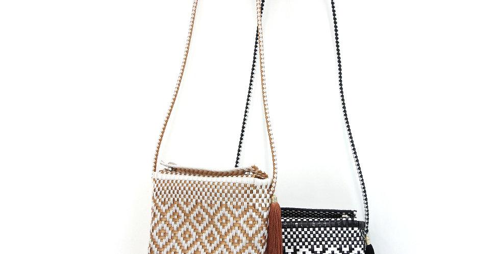 【WOVEN ウーヴン】メキシコ製 ショルダーバッグ メルカドバッグ