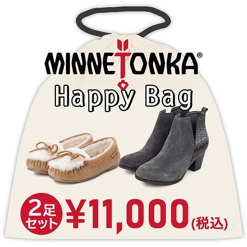 【MINNETONKA ミネトンカ】HAPPY BAG 2足セットお得な福袋