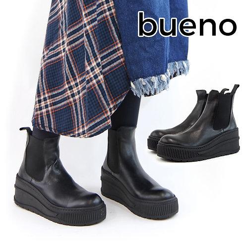 【BUENO SHOES ブエノシューズ】トルコ製 サイドゴア ボリュームソールブーツ【M4700】