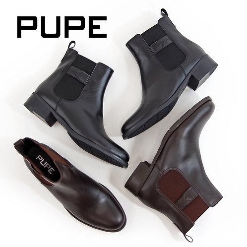 【PUPE プーペ】スペイン製 サイドゴア ショートブーツ【1215E】